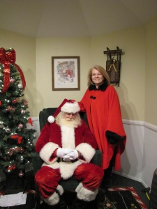 Visit with Mrs. Claus on Wednesday nights while Santa gets some work done at the North Pole.